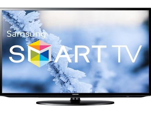 "$277.99 Samsung 32"" 1080p WiFi LED-Backlit Smart LCD HD Television UN32H5203 + $125 Dell eGift Card"