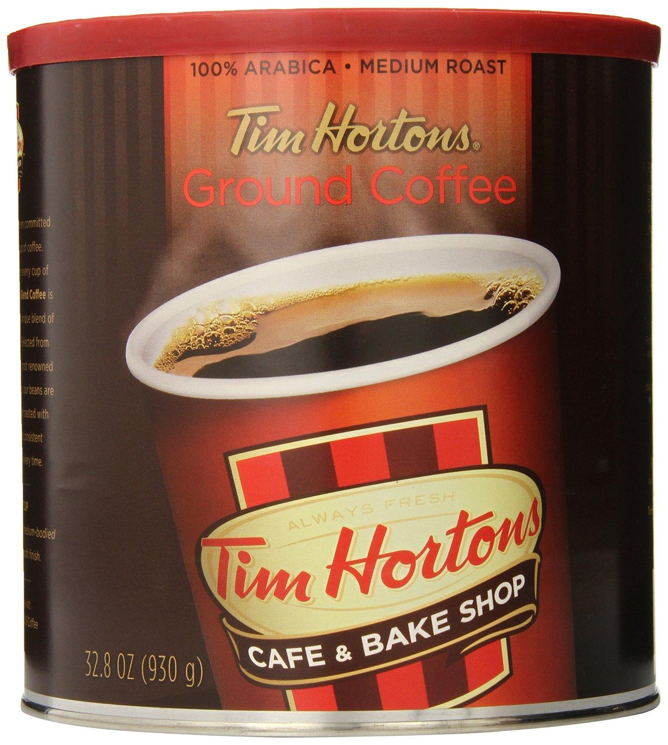 Tim Horton's 100% Arabica Medium Roast Original Blend Ground Coffee