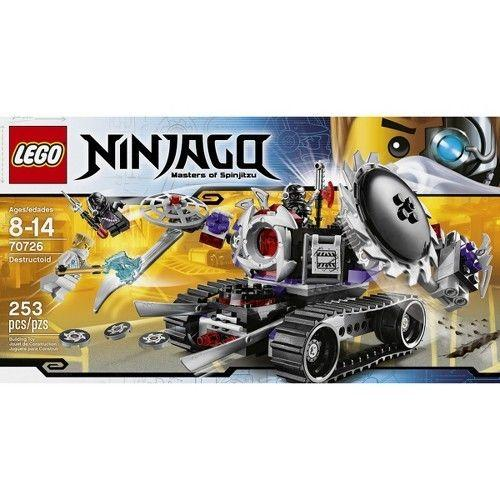 LEGO Ninjago Destructoid 70726