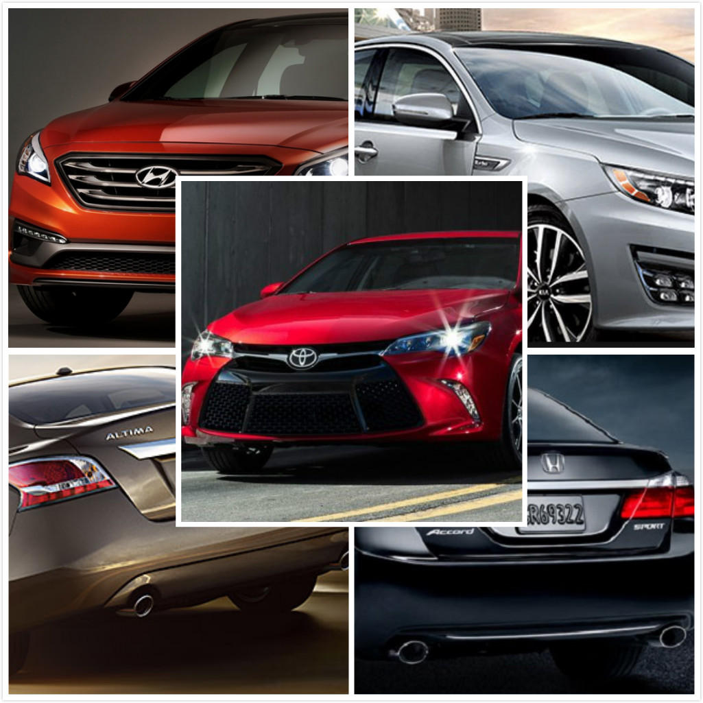 How would you pick?New 2015 Midsize Family Sedans