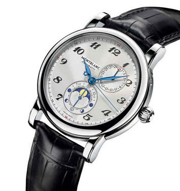 $2875 Montblanc Star Twin Moonphase Automatic Mens Watch 110642