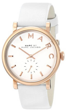 $146.25 Marc by Marc Jacobs Women's MBM1283 Baker Rose-Tone Stainless Steel Watch
