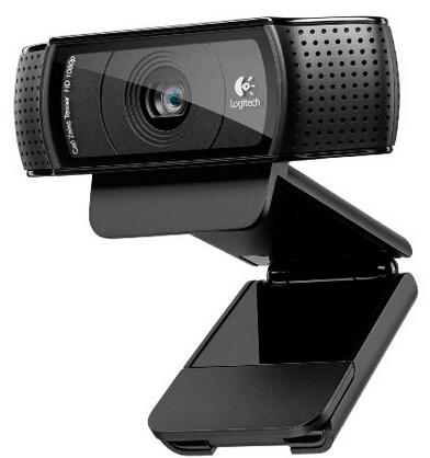 $59.99 Logitech HD Pro Webcam C920, 1080p Widescreen Video Calling and Recording