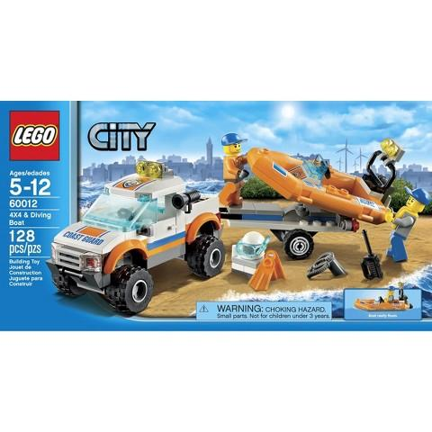 $13.59 LEGO City 4x4 and Diving Boat 60012