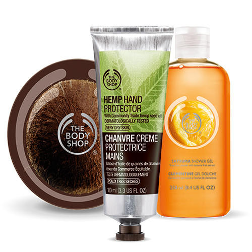 Buy 3, Get 3 Free + Free Shipping + Free Gift with $50 Purchase @ The Body Shop