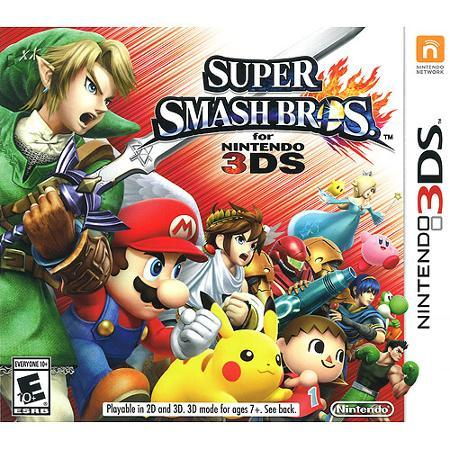 $219.96 Nintendo 3DS XL Handheld with Super Smash Bros + Choice of Amiibo