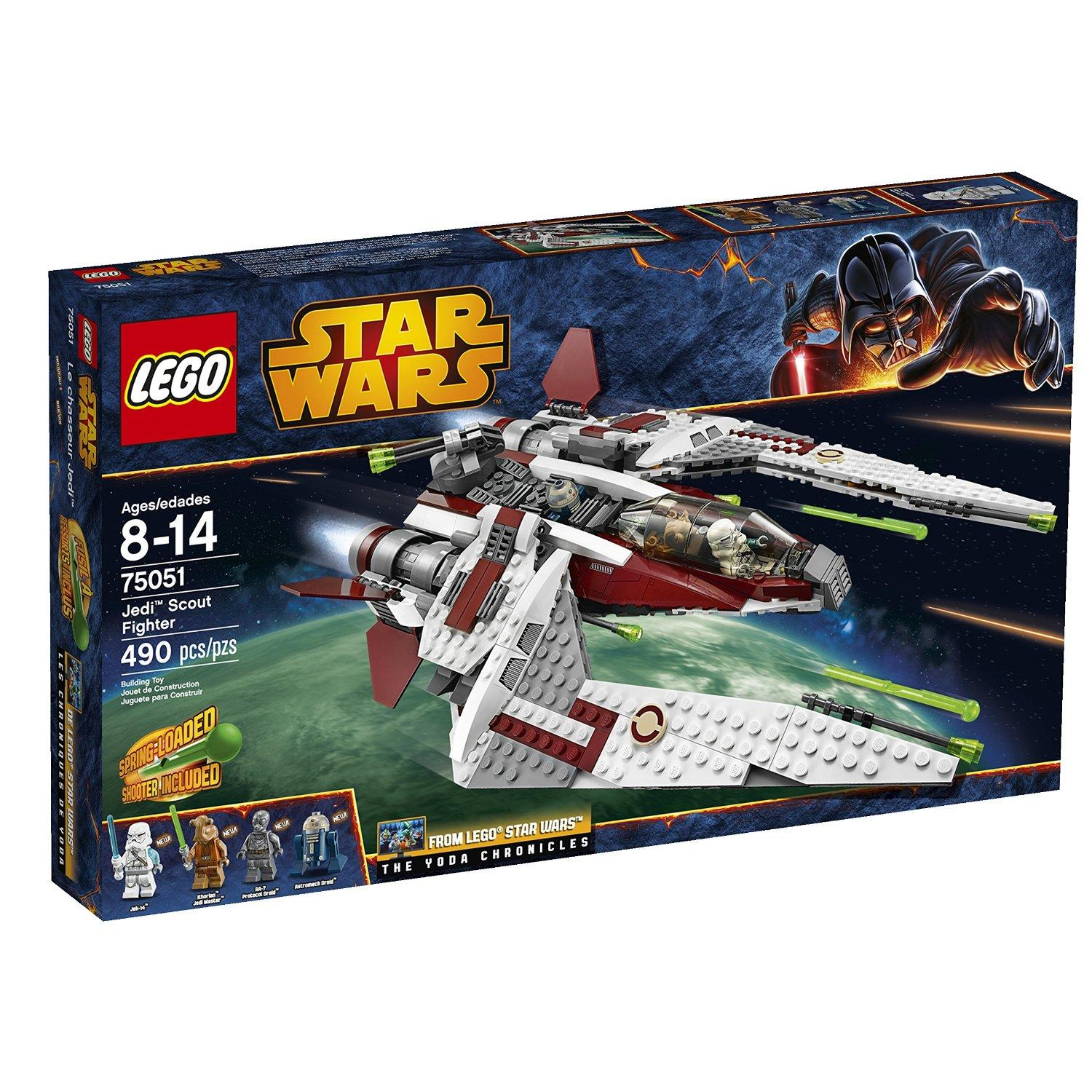 $47.99 LEGO Star Wars 75051 Jedi Scout Fighter Building Toy