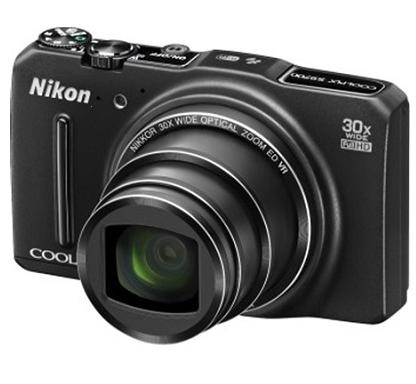 $129 (Refurbished) Nikon COOLPIX S9700 16MP Digital Camera with 30x Zoom, Wi-Fi, GPS, and Full HD 1080p Video