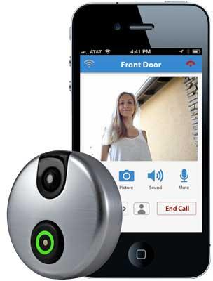 $149.99 SkyBell Wi-Fi Video Doorbell Version 2.0