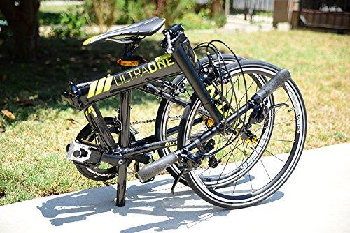 $756.05 Allen Sports Ultra 1 Carbon 20 Speed Folding Bicycle,