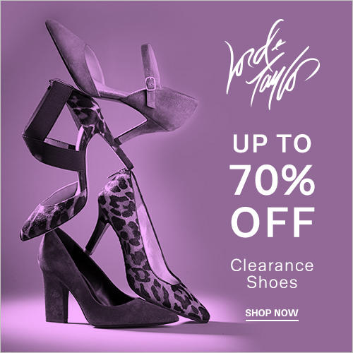 Up to 70% Off Clearance Shoes @ Lord & Taylor