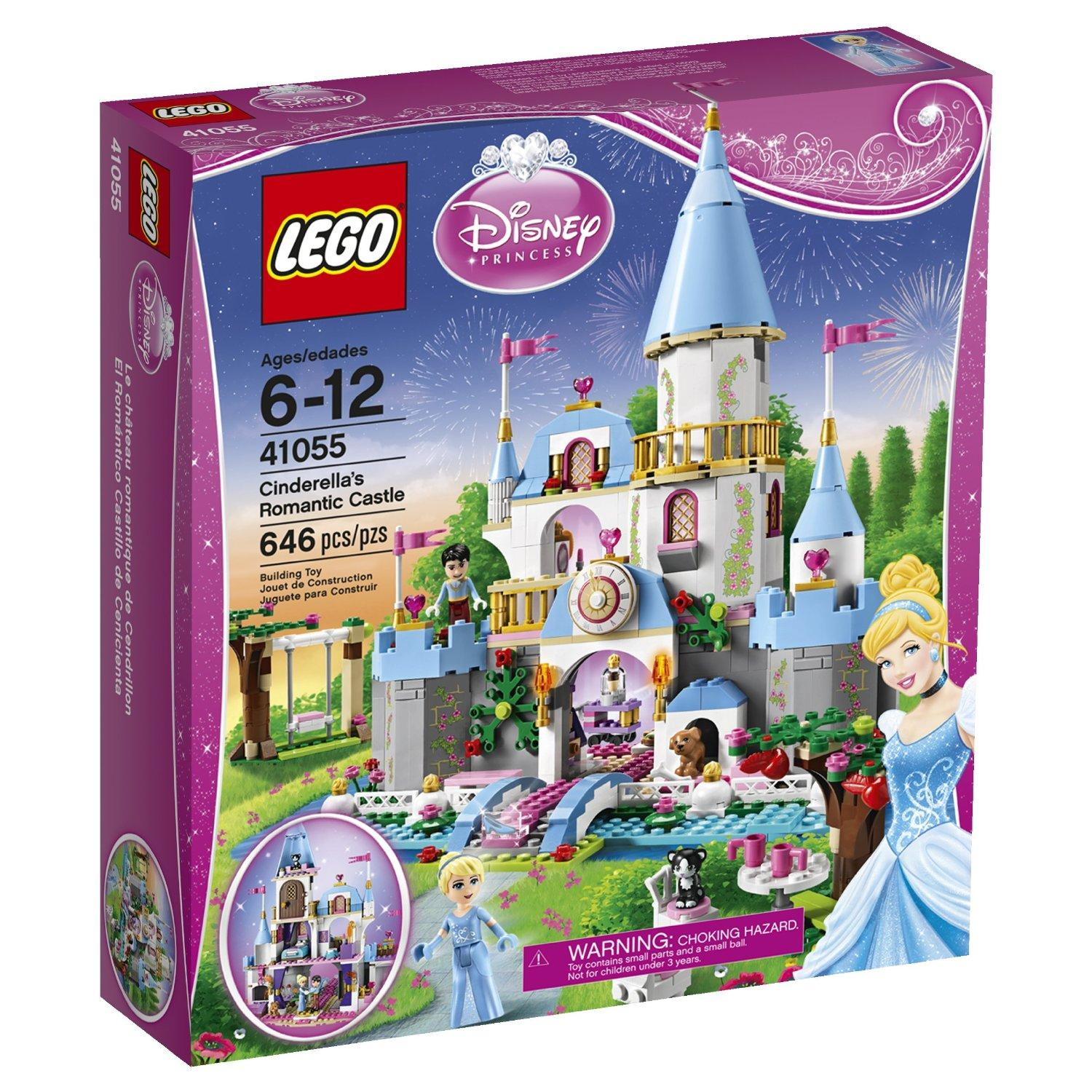 Build Your Own Castle Lego Disney Princess Collections @ Amazon.com