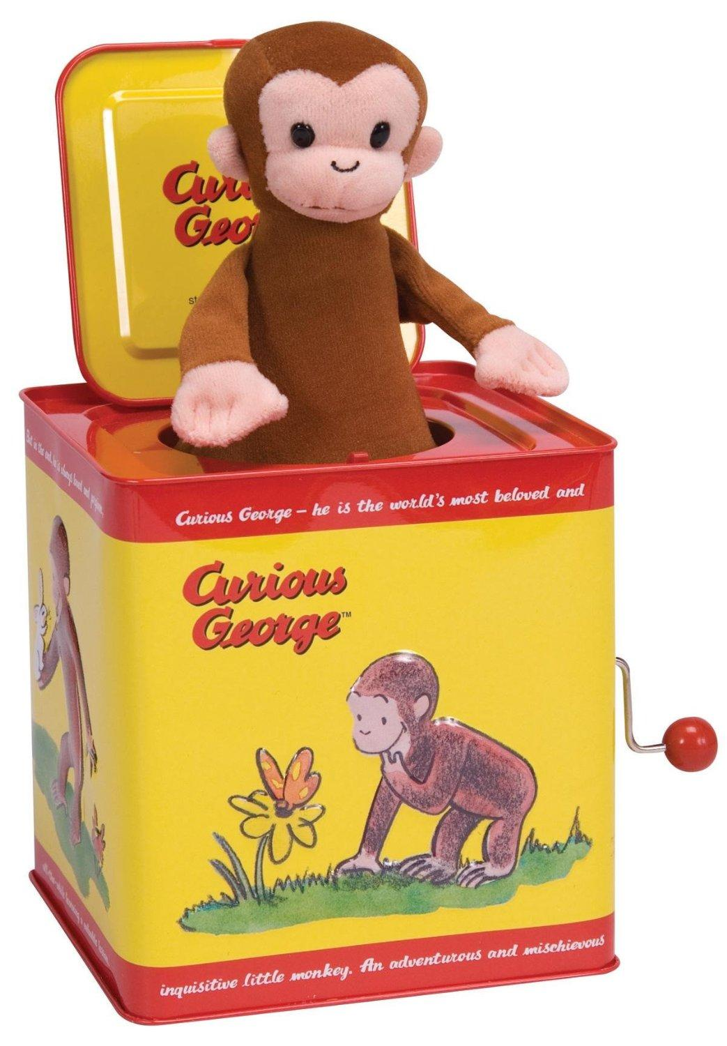 $12.99 Curious George Jack in the Box