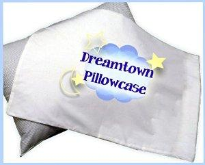 $1.95 Toddler Pillowcase by Dreamtown Kids, 100% Premium Pima Cotton