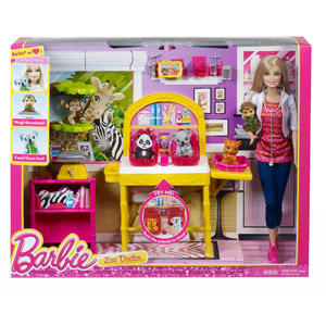 $4.97 Barbie I Can Be Zoo Doctor Play Set