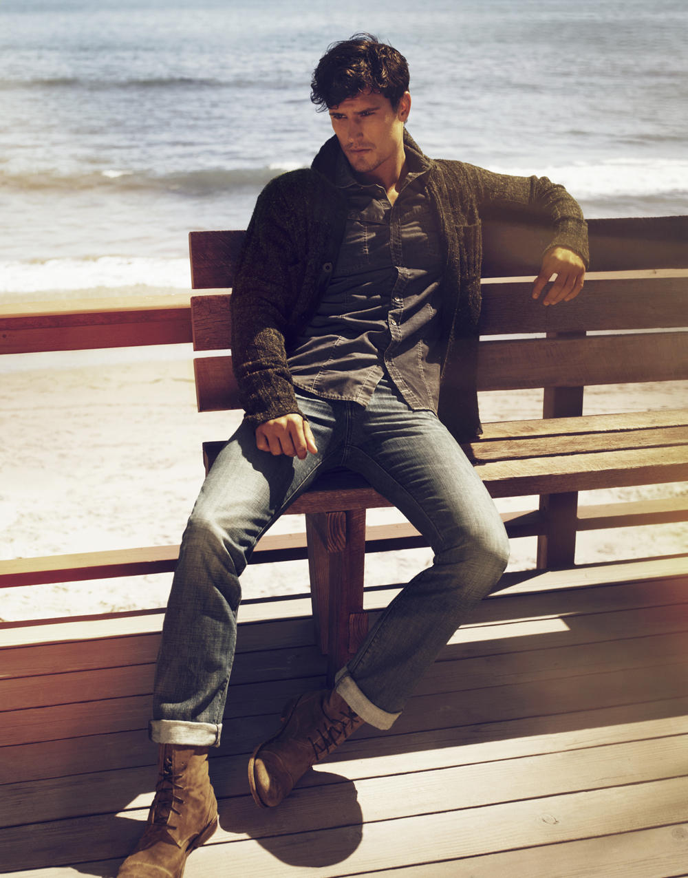 Men's Jeans from Diesel, DL 1961, CK, 7 For All Mankind and More @ 6PM