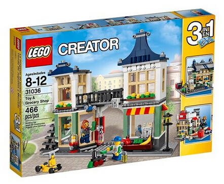 $31.99 Lego® Creator Toy & Grocery Shop 31036
