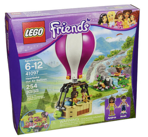 $23.99 LEGO Friends 41097 Heartlake Hot Air Balloon
