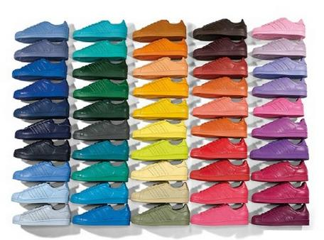 From $50 Adidas Originals Pharrell Williams supercolor Collection @ ASOS