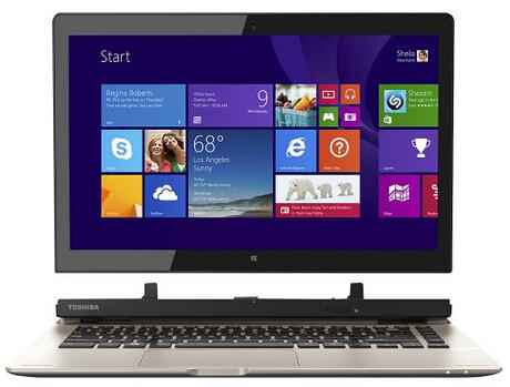 """$379.99 Toshiba Satellite Click 2 2-in-1 13.3"""" Touch-Screen Laptop"""
