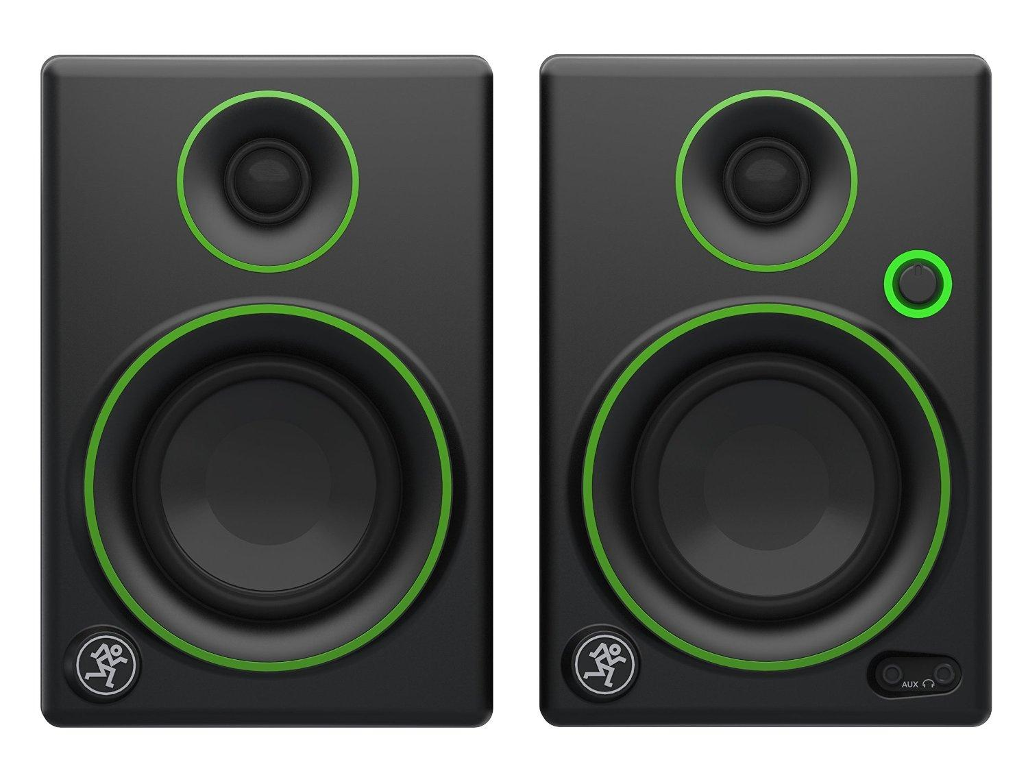 $99.99 Mackie CR3 3-Inch Creative Pair of Reference Multimedia Monitors