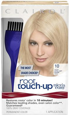 $1.84 Clairol Nice 'n Easy Root Touch-Up 10 Extra Light Blonde 1 Kit