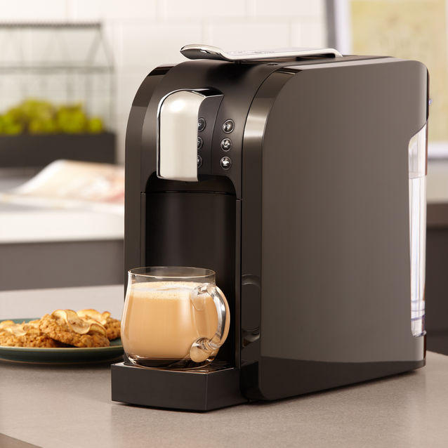 $49.99 Starbucks Verismo 580 Brewer, Piano Black