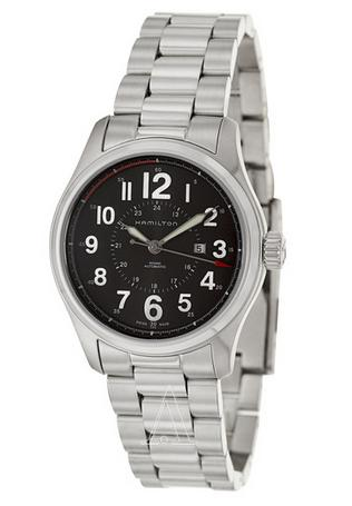 Hamilton Men's Khaki Field Officer Auto Watch H70365133 (Dealmoon Exclusive)