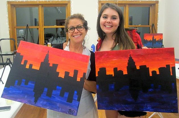 $26.25 Two-Hour BYOB Painting Class