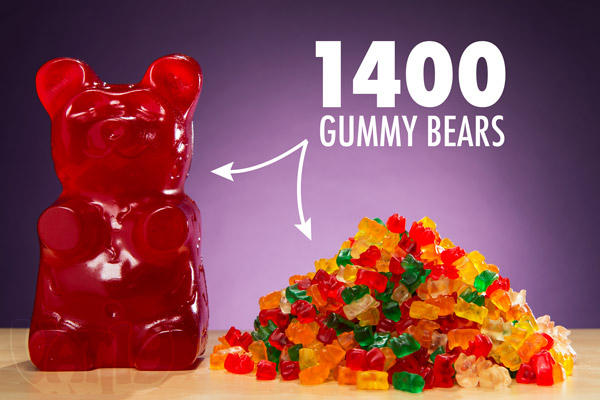 $29 Giant Gummy Bear approx 5 Pounds