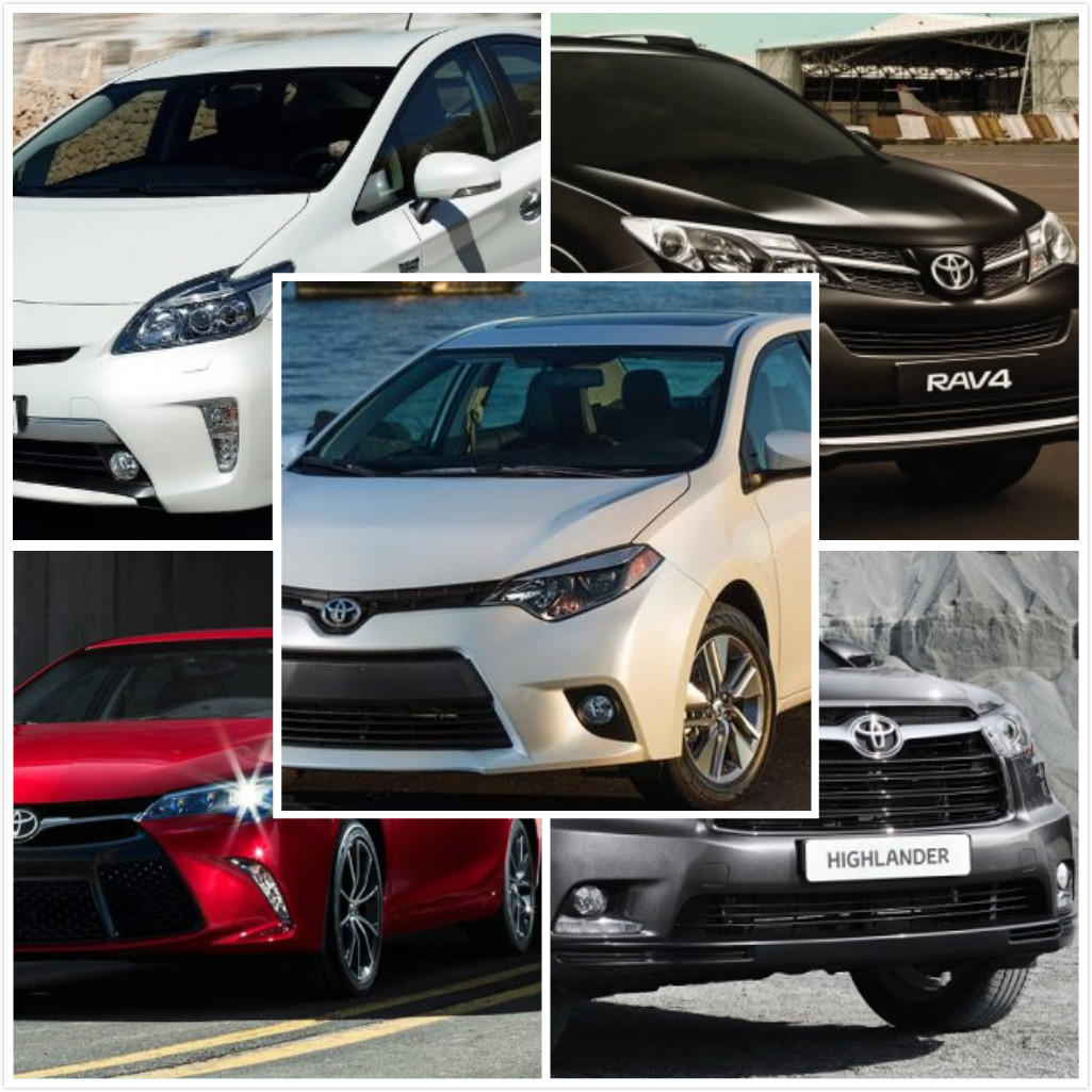 Where there is a road, there is ToyotaToyota popular new cars roundup