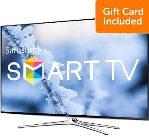 "Samsung 60"" 1080p 120Hz LED Smart HDTV + Dell $200 Gift Card"