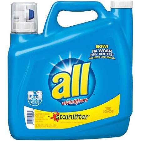 All Stainlifter 150-oz. Liquid Detergent