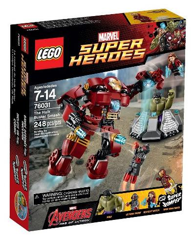 $23.99 LEGO Super Heroes The Hulk Buster Smash 76031