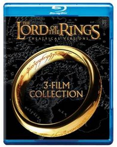 $12.99  Lord of the Rings: Theatrical Trilogy (Blu-ray)