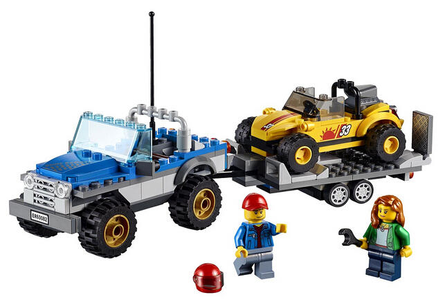 $15.99 LEGO City Great Vehicles Dune Buggy Trailer