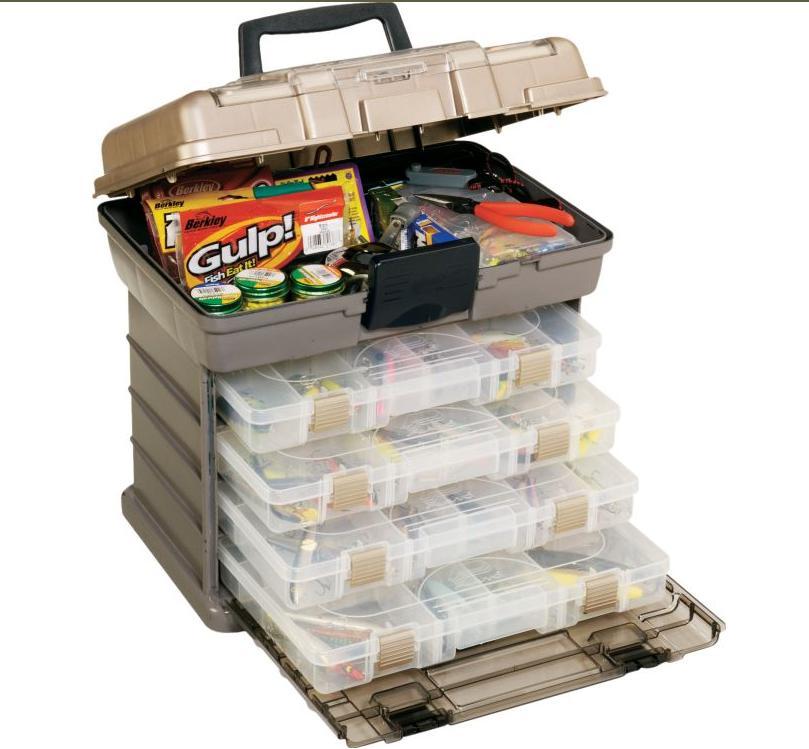 Plano 4-Bay Rack System Tackle Storage