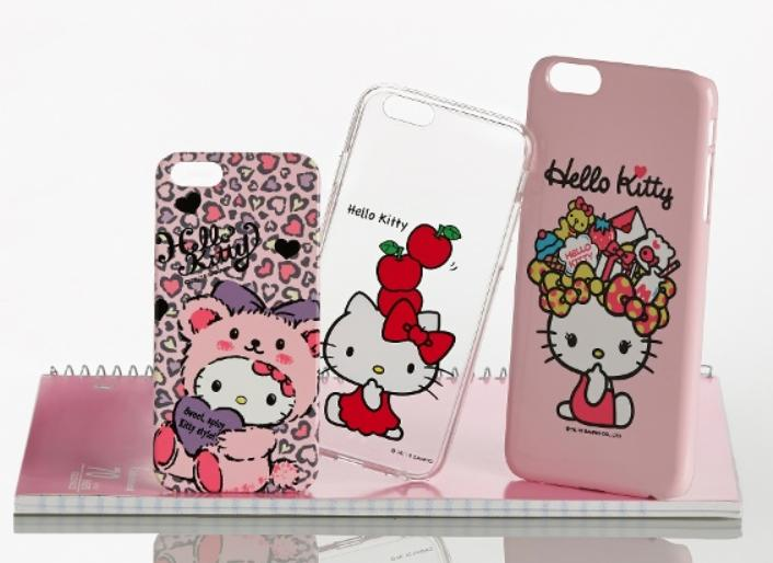 $19.99 Sanrio Hello Kitty Clear or Color Case for Apple iPhone 5/5s, 6, or 6 Plus