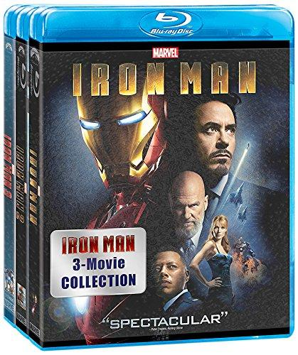 $24.99 Iron Man 3-Movie Collection Blu-ray