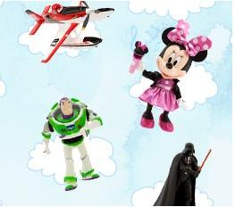 Buy 1 get 1 50% off  Select Toys @ Disney Store