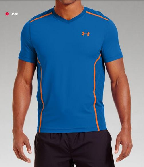 Under Armour Men's HeatGear® ArmourVent™ Fitted Short Sleeve, Multiple Colors Available