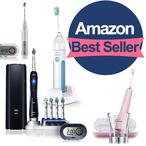 From $4.99 Best Seller of Power Toothbrushes Roundup @Amazon