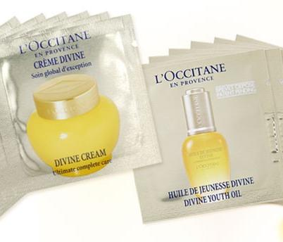 Free 7-Day Divine Trial  with Any Purchase @L'Occitane