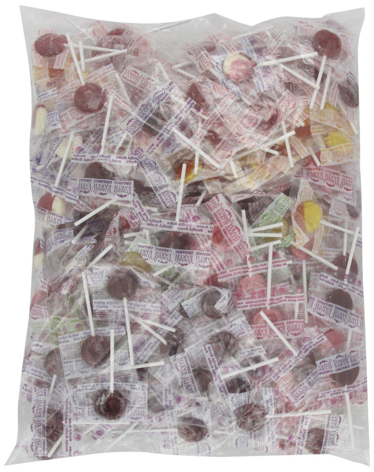 YumEarth Organic Lollipops, 5 Pound Bag