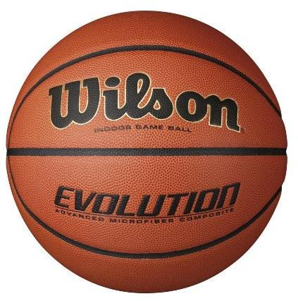 $47.97 Wilson Evolution Indoor Game Basketball Official