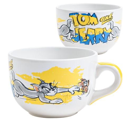 $3.57 + Free Shipping Warner Brothers Tom & Jerry Chase Soup/Chili Mug - 24 fl.oz.