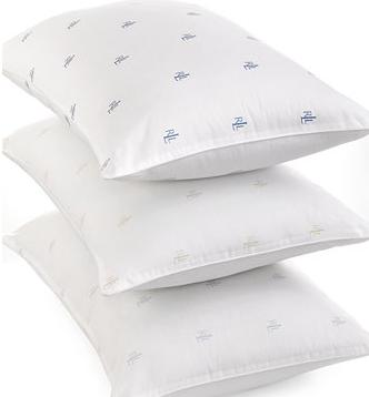 4 For $21.97 Lauren Ralph Lauren Logo Pillows