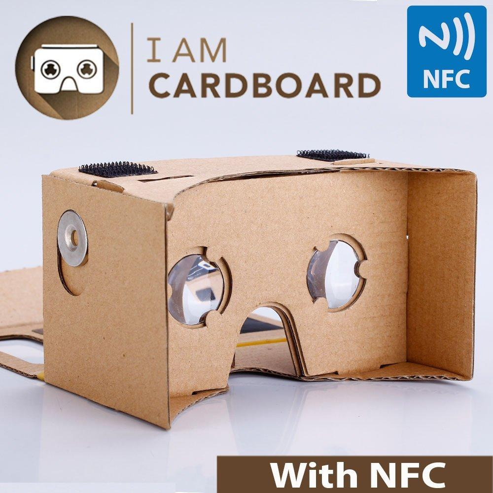 $14.99 I AM CARDBOARD 45mm Focal Length Virtual Reality Google Cardboard
