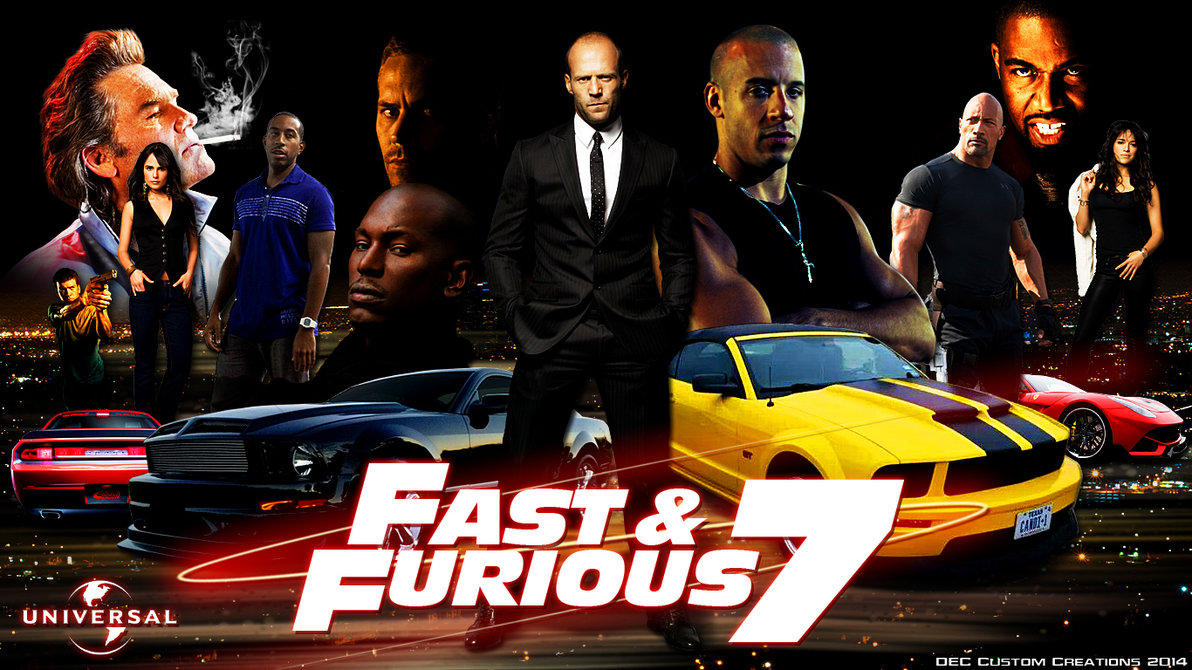 Go Fast!Fancy Cars in Fast & Furious 7