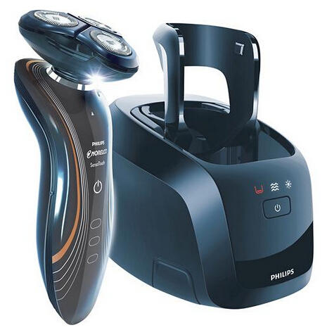 Philips Norelco Rechargeable Cordless Razor with 2D Heads